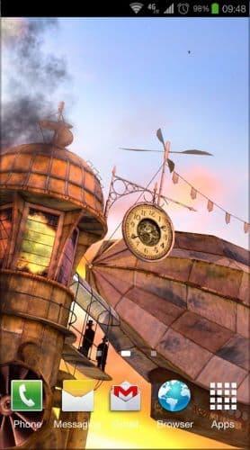 3D Steampunk Travel Pro lwp