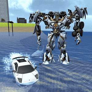 скачать X Robot Car : Shark Water