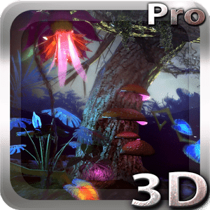скачать Alien Jungle 3D Live Wallpaper apk