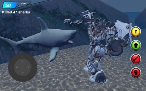 X Robot Car : Shark Water