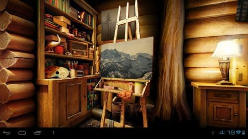 My Log Home 3D Live wallpaper