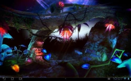 Alien Jungle 3D Live Wallpaper