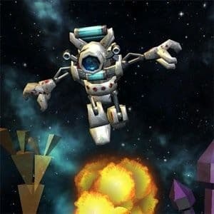 Space Robot Platform Game