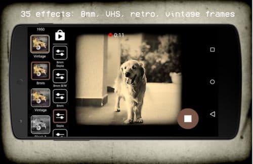 Vintage Retro Camera + VHS