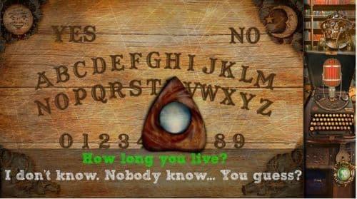 Ouija Game: Real spirit board