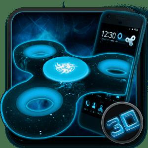 скачать Fidget Spinner Space 3D тема
