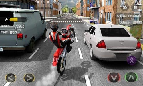 Race the Traffic Moto FULL