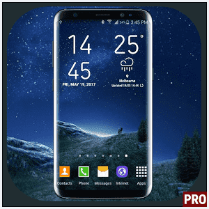 Weather Widget Galaxy S8 Pro - Live Temperature
