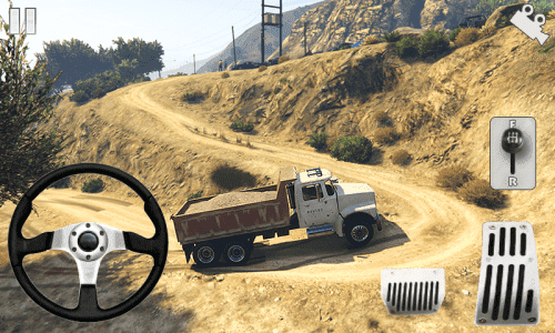 Off-road Army Truck