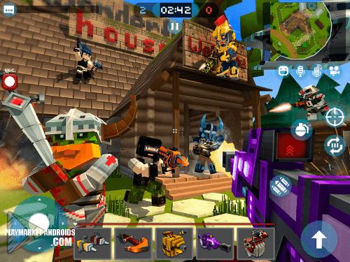 Mad GunZ — безумные стрелялки онлайн
