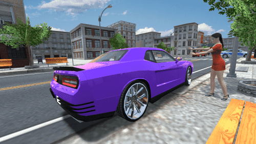 Muscle Car Challenger