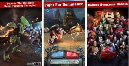 Iron Kill Robot Fighting Game Робот Бои Без Правил