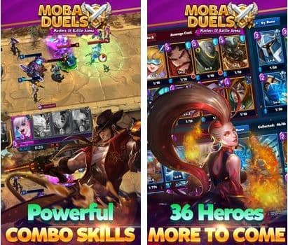 MOBA Duels - Masters Of Battle Arena