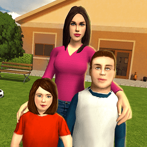 скачать Virtual Mom : Happy Family 3D apk