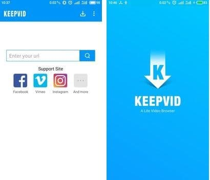 KeepVid Lite - download facebook & Instagram video