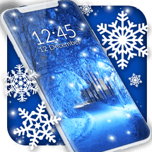 Winter snow wallpaper